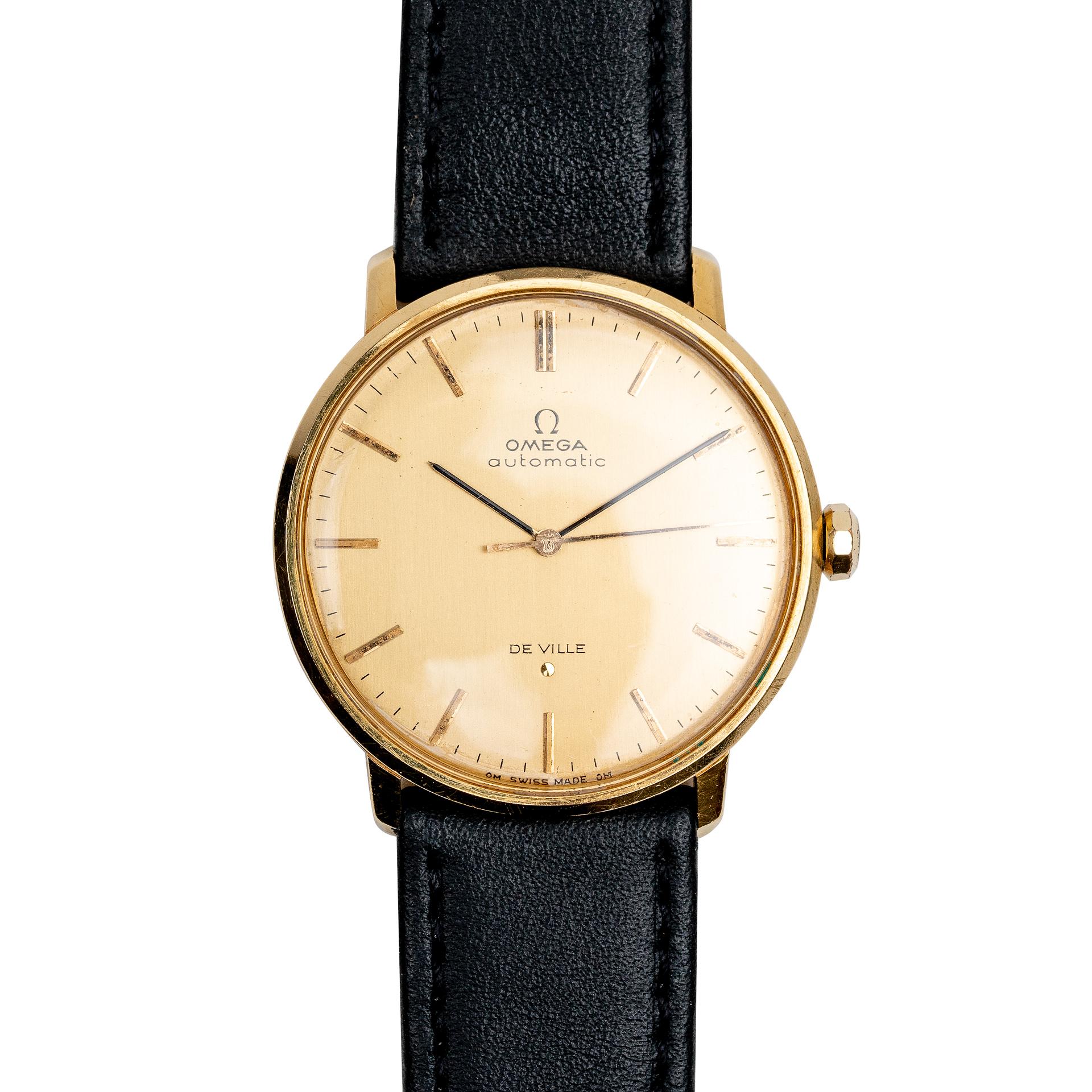 Omega de ville 18k gold 161024 from 1966